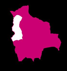 mapa la paz