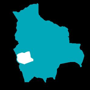 mapa oruro