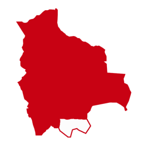 mapa tarija